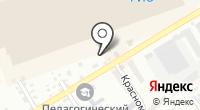 Автостоянка на Бажова на карте