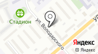 Автостоянка на Володарского на карте