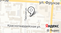 Центральный-1 на карте