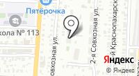 Центральный-8 на карте