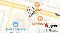 Югра-Охрана на карте