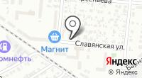 Станица Радонежская на карте