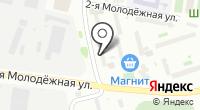 На Шинной на карте