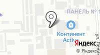 Галс на карте