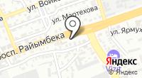 Маржан на карте