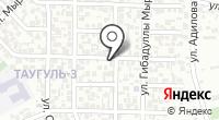 Мунай Графика на карте