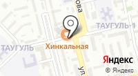 Парикмахерская на Сулейменова на карте
