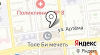 Динара на карте