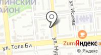 Номад на карте