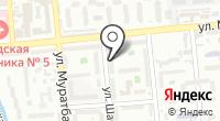 Акмарал на карте