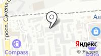 Ринда на карте