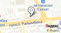 Батыр на карте