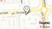 Тихвинская на карте