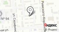 Бизнес в Сибири на карте