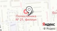 Телевизионный квартал на карте