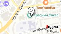 Театральный проспект на карте