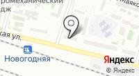 Сеть магазинов цветов на карте