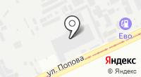 Генио на карте