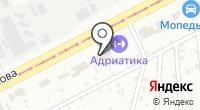 Осиновая на карте