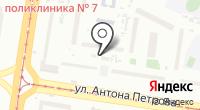 Банный клуб №1 на карте