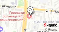 Городская поликлиника №2 на карте