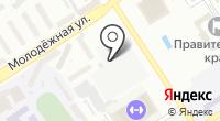 Барнаульская крепость на карте