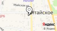 Муниципальный отдел полиции Алтайского района на карте