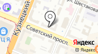 Агентство недвижимости Центральное на карте