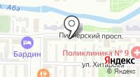 Коллегия адвокатов Новокузнецкого района на карте
