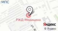 Морг на карте