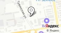 Шиномонтажная мастерская на Тувинской на карте