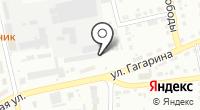 Усть-Абаканское на карте