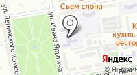 Средняя общеобразовательная школа №19 на карте