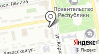 Музей истории ОВД по Республике Хакасия на карте