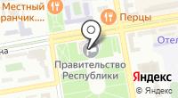 Избирательная комиссия Республики Хакасия на карте
