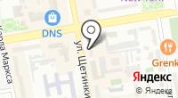 Хакасия на карте