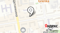 Шанталь на карте