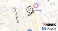 Белая Леди на карте