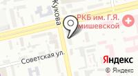 Производственно-торговая компания ритуальных товаров на карте