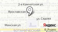 Алексеевский двор на карте