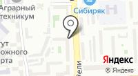 Башмачок на Ладушке на карте