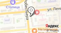 Красноярский учебный центр Красноярской железной дороги на карте