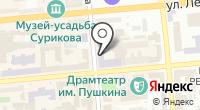 Мастер-класс на карте