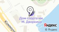 Красноярский краевой врачебно-физкультурный диспансер на карте