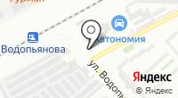 Шиномонтажная мастерская на Светлогорской на карте
