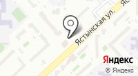 Продуктовый магазин на Ястынской на карте