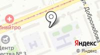 Мерилин на карте