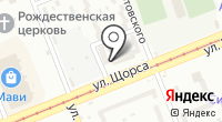 Дева на карте