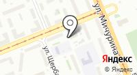 Таволга на карте