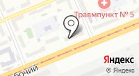 Городская поликлиника №12 на карте